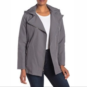 NEW MICHAEL Kors Missy Belted Biker Sports Jacket